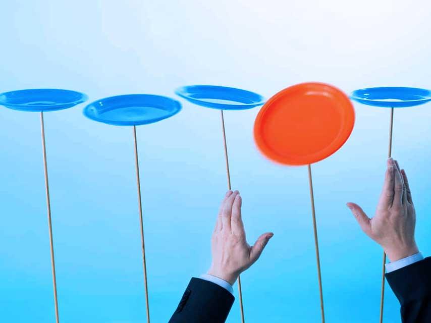 Spinning Innovation Plates